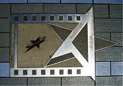Bruce Lee's Star At The Avenue Of Stars, Hong Kong