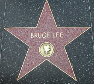 Bruce Lee's Star On The Hollywood Walk Of Fame